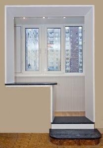 """Капитальный ремонт балконов и лоджий под ключ """" цена в москв."""