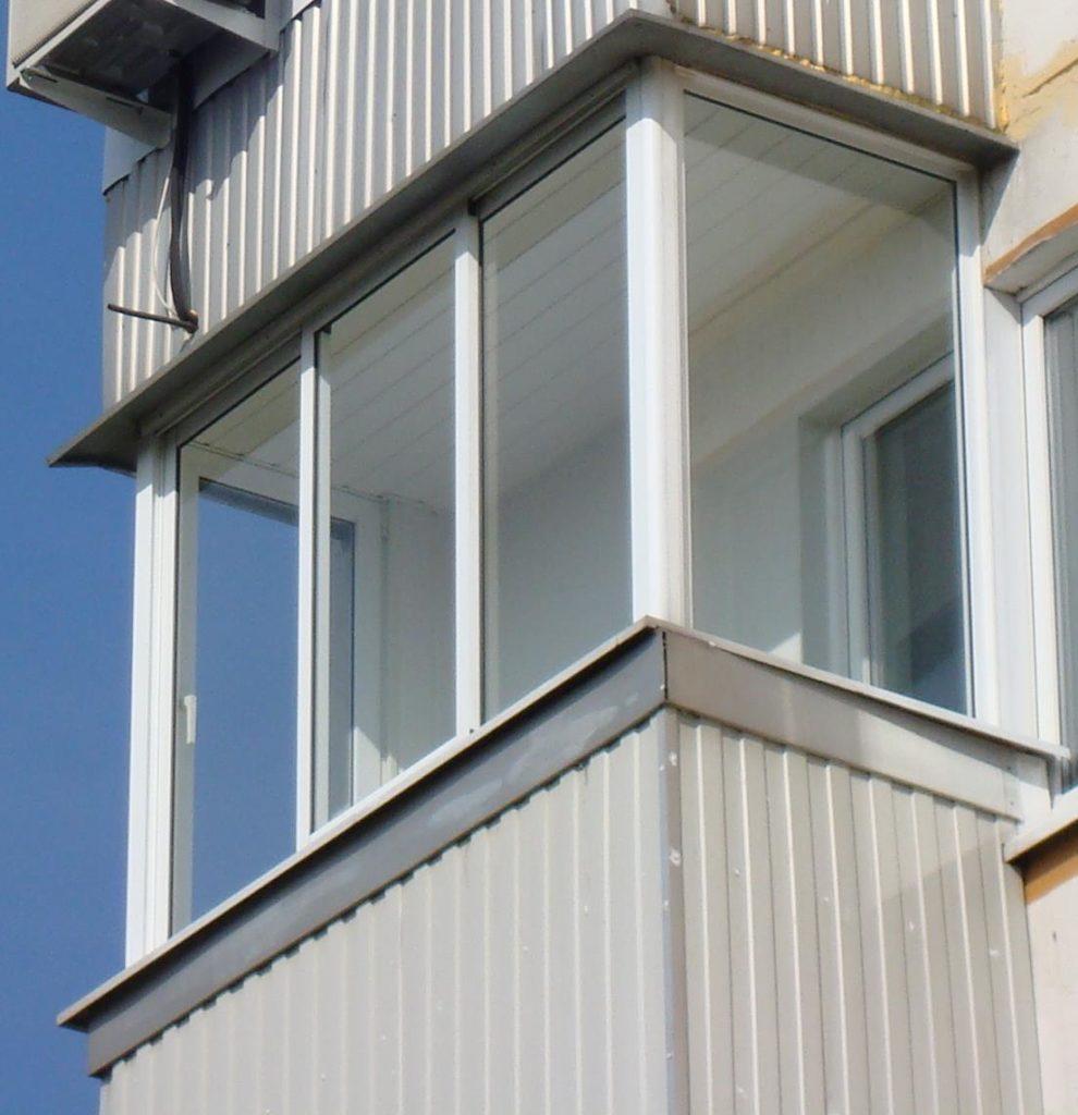 """Остекление балконов и лоджий """" цена в москве на остекление б."""