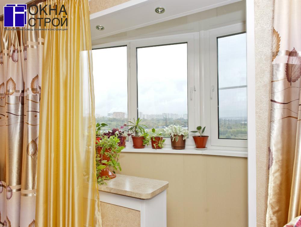 Объединение лоджии, балкона с жилым помещением, кухней- / до.