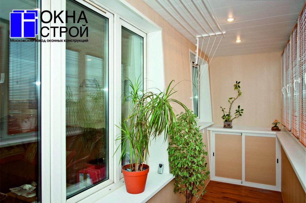 Ремонт балкона московский.
