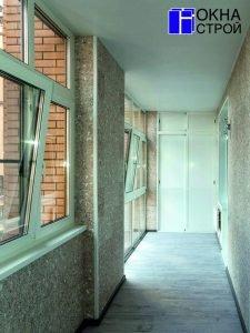 """Отделка балконов и лоджий под ключ в москве """" заказать со ск."""