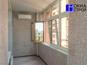 """Теплое остекление балконов и лоджий 6 метров """" цена в москве."""