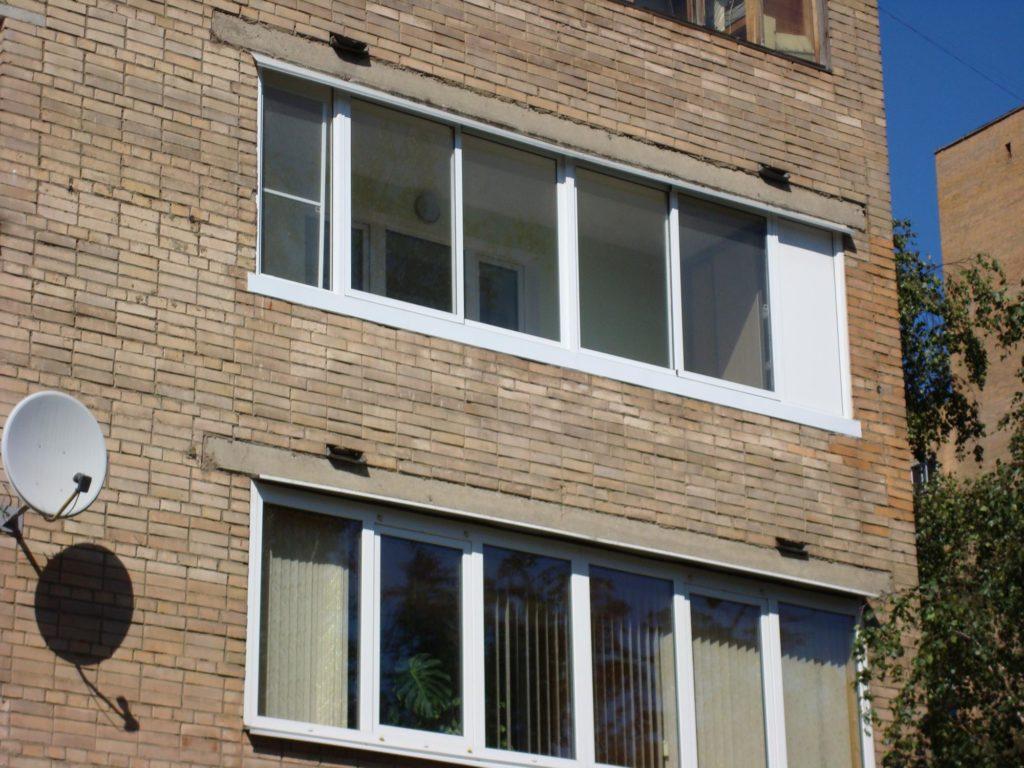 """Остекление балконов и лоджий 6 метров """" цена под ключ в моск."""