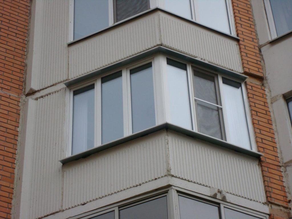 """Остекление балконов и лоджий в п-44т (утюжок) """" цены в москв."""