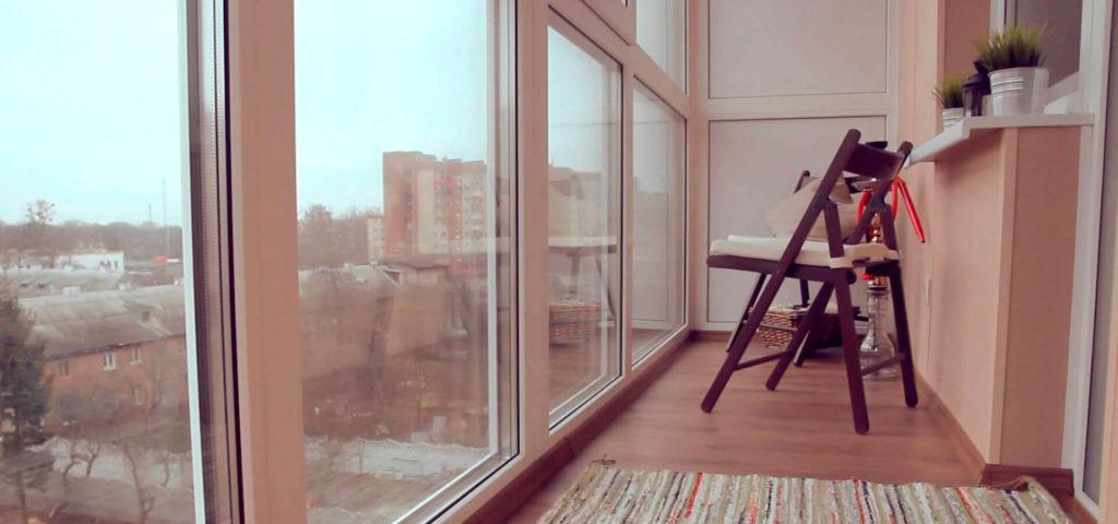 """Теплое панорамное остекление балкона и лоджии """" цены от заво."""