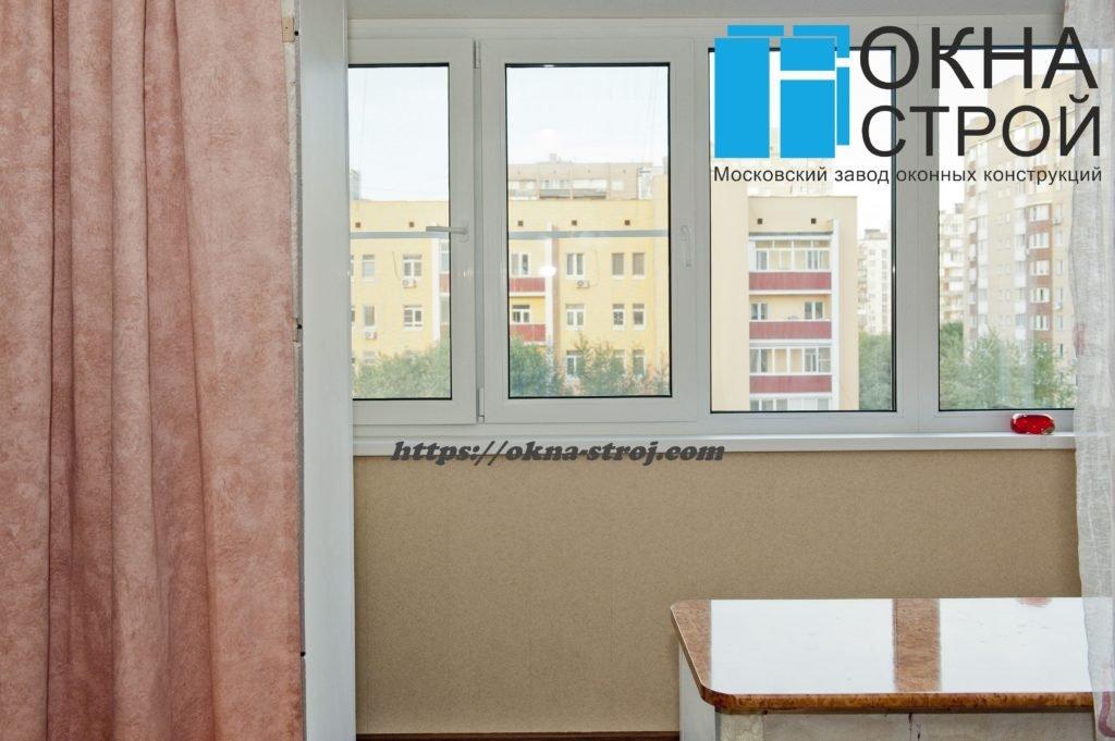 Совмещение лоджии 6 метров с комнатой: кабинет для школьника