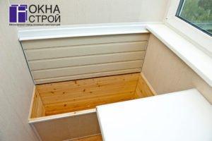 Ящик для хранения картофеля на балконе или лоджии