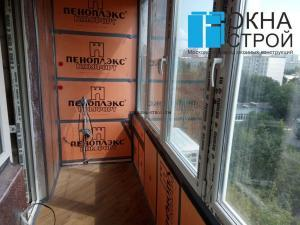 Экологичное утепление балкона экструдированным пеноплэксом, пригодным для внутренних работ