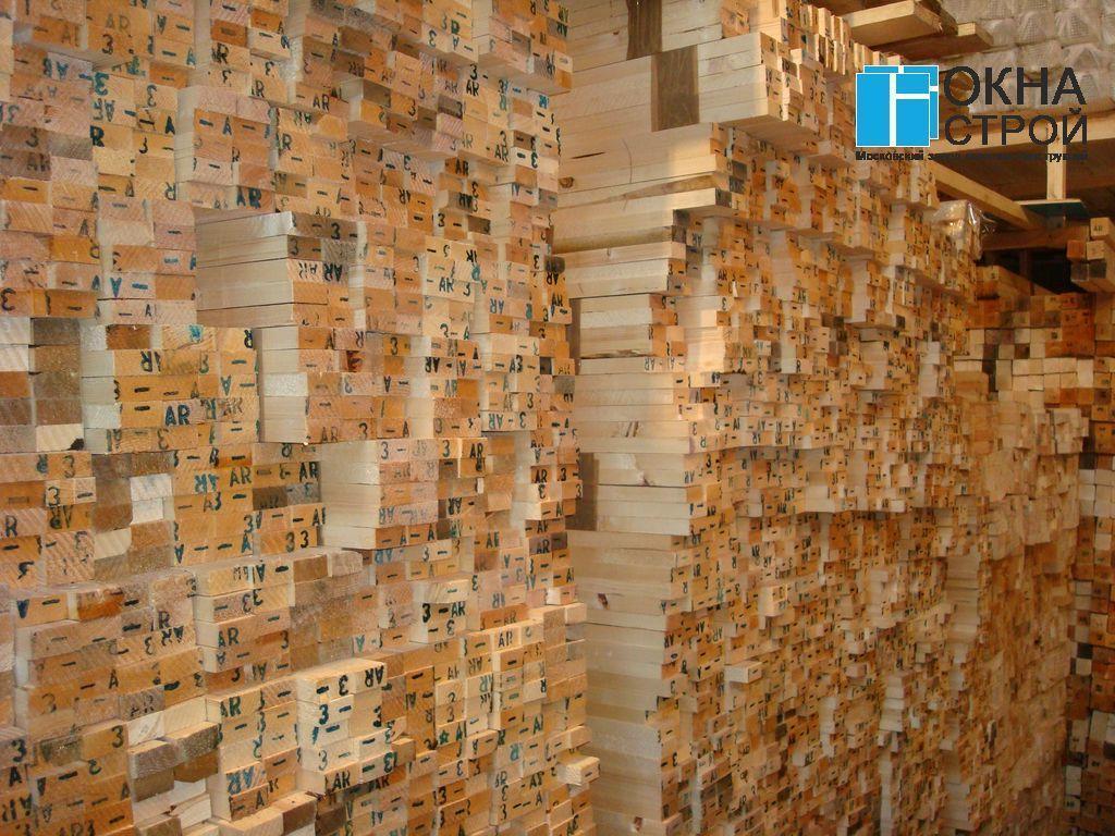 Архангельский экологически чистый лес (маркированный) на складе Окна-Строй