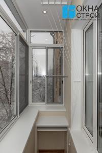 Вынос по подоконнику - дополнительный объем балкона