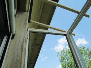 Аварийный монтаж крыши